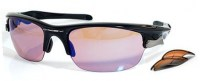 Oakley 9097 03 Fast Jacket Polar Black w/G30&Persimmon 2N aurinkolasit