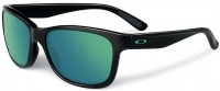 Oakley 9179 28 Forehand Polished Black Emerald Iridium 57-16 3N aurinkolasit